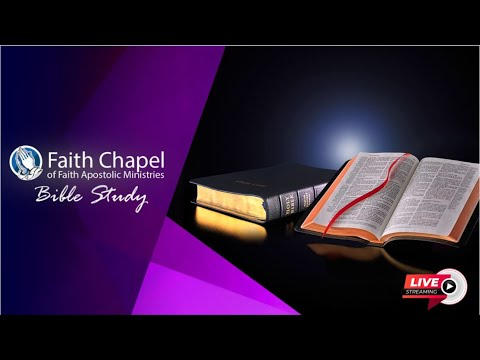 March 25, 2020 [Wednesday Bible Study] Bishop Garfield Daley