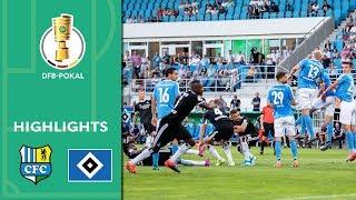 Chemnitzer FC vs. Hamburger SV 2-2 (7-8 Pens) | Highlights | DFB Cup 2019/20 | 1st Round