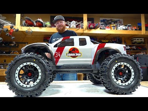 JURASSIC PARTS UPGRADE : TRAXXAS XMAXX CASTLE 2028 780KV BRUSHLESS MT | RC ADVENTURES - UCxcjVHL-2o3D6Q9esu05a1Q