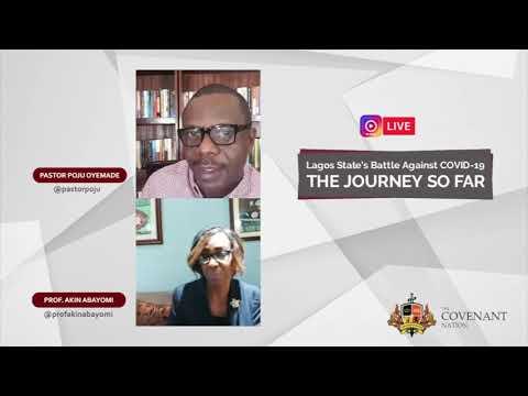 IG Live Chat with Prof. Akin Abayomi and Pastor Poju Oyemade