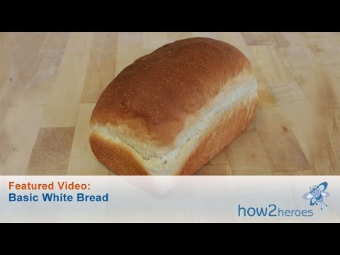 Homemade Basic White Bread