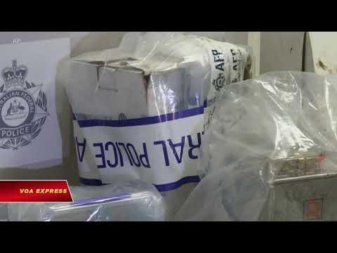 Mỹ-Úc phối hợp triệt phá đường dây ma túy (VOA)