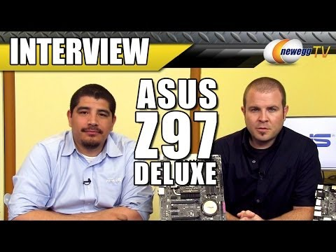 ASUS Z97 Deluxe Motherboard Interview - Newegg TV - UCJ1rSlahM7TYWGxEscL0g7Q