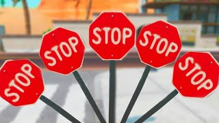Destroy Stop Signs with the Catalyst Outfit LOCATIONS!