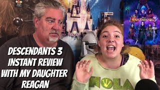 Descendants 3: Instant Review with my Daughter Reagan