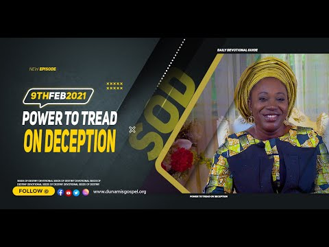 Dr Becky Paul-Enenche - SEEDS OF DESTINY  TUESDAY FEBRUARY 9, 2021