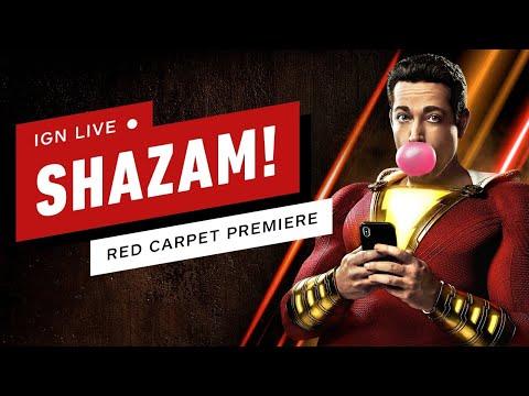 Shazam! Live From the Red Carpet! - IGN Live - UCKy1dAqELo0zrOtPkf0eTMw
