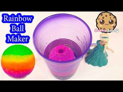 DIY RAINBOW Bouncy BAll Mad Lab Ball Creator Do It Yourself Set Playset Kit Cookieswirlc Video - UCelMeixAOTs2OQAAi9wU8-g