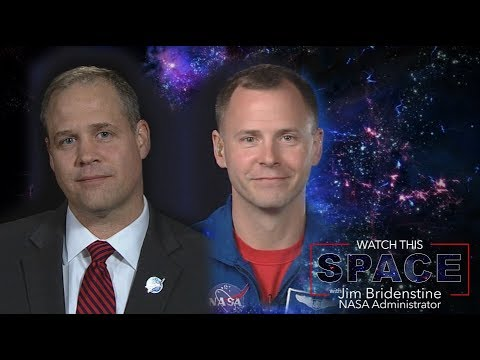 NASA Administrator Bridenstine Talks With Astronaut Nick Hague - UCLA_DiR1FfKNvjuUpBHmylQ