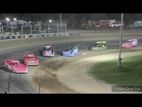 Late Model A-Main - Crystal Motor Speedway - 9-18-2021 - dirt track racing video image