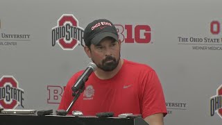 Full Press Conference: Coach Ryan Day announces Buckeyes starting quarterback, captains