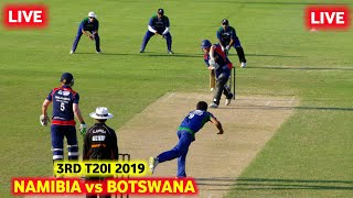 Namibia vs Botswana 1st T20 2019 Live Streaming🔴Botswana vs Namibia T20 Cricket Match Live Stream