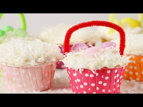 Coconut Cupcakes Recipe Demonstration - Joyofbaking.com
