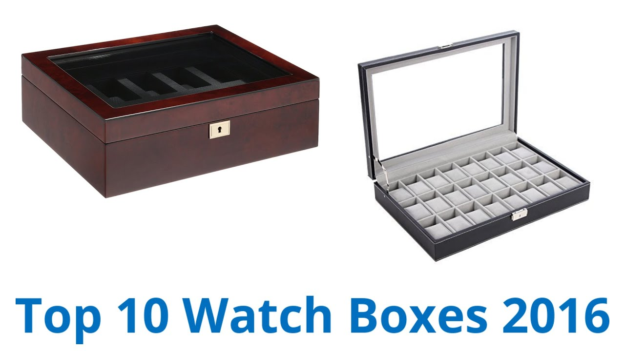 10 Best Watch Boxes 2016