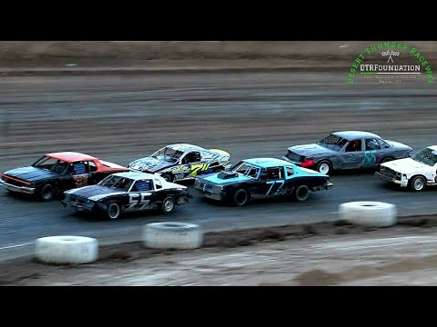 Desert Thunder Raceway Sport Mini Bomber Main Event 6/26/21 - dirt track racing video image