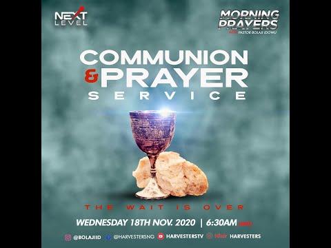 Next Level Prayer: Pst Bolaji Idowu 18th November 2020