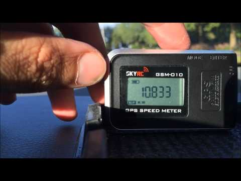 SKYRC GPS Speed Meter Unboxing + Live Test - UC9L60a61ZqVcZwxAVBZ6ZQw