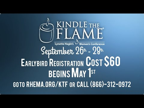 KINDLE THE FLAME 2019  Save the Date