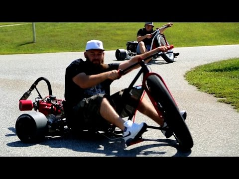 Motorized Drift Trike - SFD Industries - UCtC2G9kkdqn1ByOJ4a9c7Lw