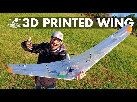 """Are 3D printed wings for you?? // The Eclipson EBW-160 """"Black Wing"""" - UCrTpude4ov3gWwSZQnByxLQ"""