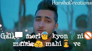 Watch Zindagi Tere Naal Khan Saab Punjabi Sad song Whatsapp