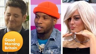 The Best of Music Stars With Tory Lanez, Michael Buble and Many More | Good Morning Britain