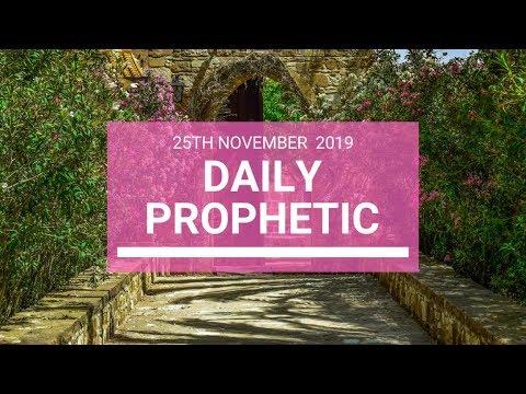 Daily Prophetic 25 November Word 5