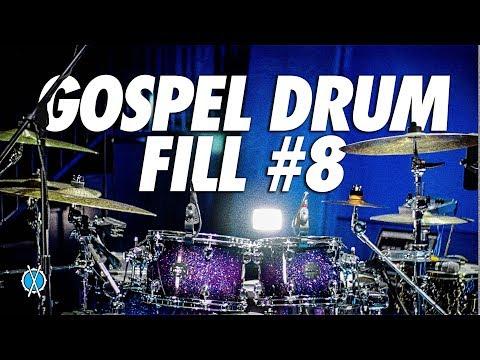 Gospel Drum Fill #8 // Daniel Bernard