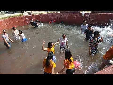 Holi festival celebrates in Nepal 2019