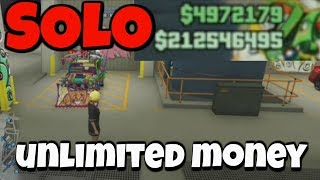 UNLIMITED SOLO MONEY GLITCH GTA 5 ONLINE ***WORKING***