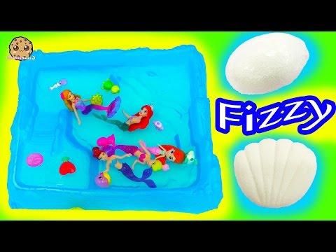 The Little Mermaid and Barbie Swim in Pool of Splashlings + Surprise Fizzy Egg - UCelMeixAOTs2OQAAi9wU8-g
