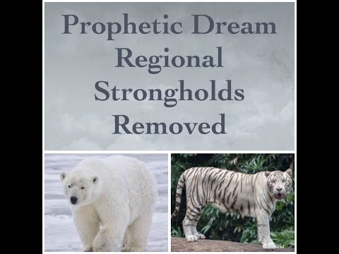 Prophetic Dream: Regional Strongholds Removed