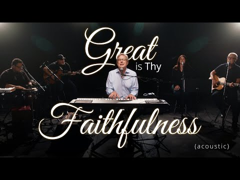 Don Moen - Great is Thy Faithfulness (Acoustic)  Praise and Worship Music
