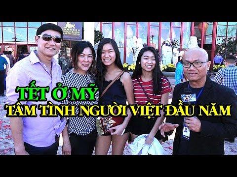 Tết Việt trên đất Mỹ và tâm tình người Việt ngày đầu năm