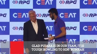 Glad Pujara Is In Our Team, It Is Tough Bowling To Him- Pujara
