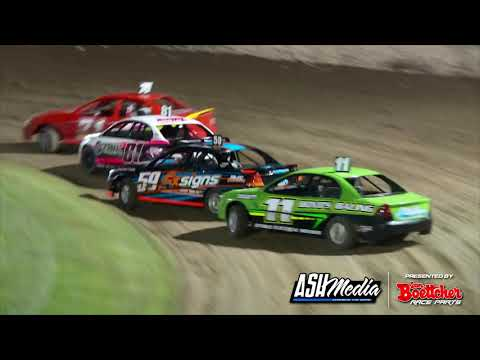 Production Sedans: A-Main - Lismore Speedway - 24.04.2021 - dirt track racing video image