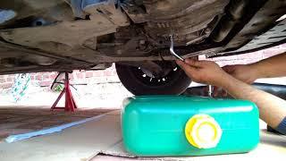 Cambio olio motore Renault Modus