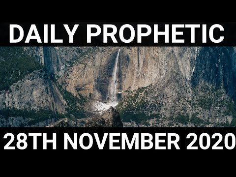 Daily Prophetic 28 November 2020 12 of 12