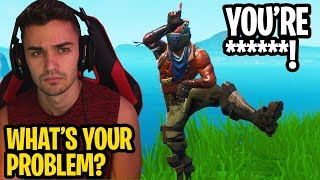 i played fortnite after 3am and met the BIGGEST BULLY! - (confronting him)