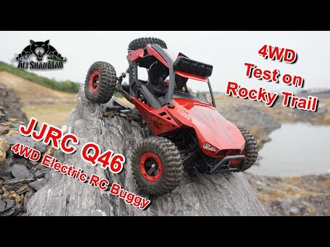 JJRC Q46 Electric RC 4WD Desert Buggy Off Road Rock Trailing - UCsFctXdFnbeoKpLefdEloEQ