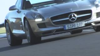 The SLS AMG Supercar - Mercedes-Benz Gullwing