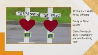 Shooting victim's family sues hospital