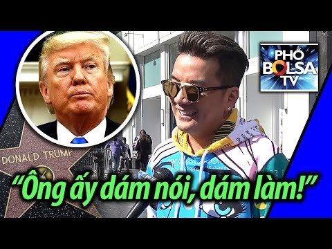 Ca sĩ Đàm Vĩnh Hưng nói về Tổng thống Trump và các nghệ sĩ Anti-Trump