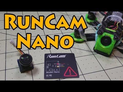 RunCam Nano FPV Camera Review  - UCnJyFn_66GMfAbz1AW9MqbQ