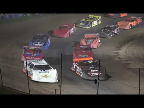 Late Model A-Feature at Crystal Motor Speedway, Michigan on 09-05-2021!! - dirt track racing video image