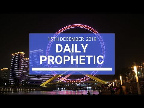 Daily Prophetic 15  December 3  of 4