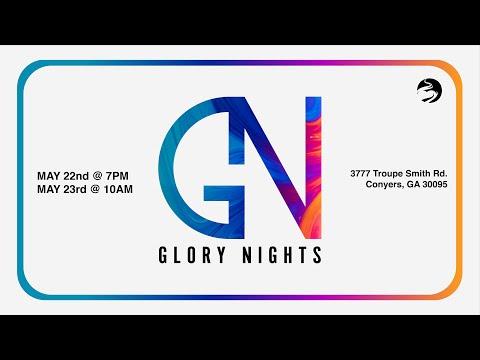 Glory Nights Pentecost Weekend