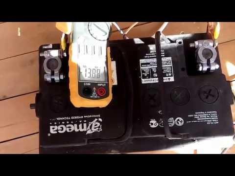 Тест контроллера для солнечной батареи - default