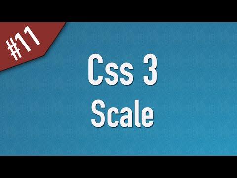 [ Css3 In Arabic ] #11 – 2D Transform – Scale