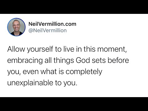 Unexplainable Mystery - Daily Prophetic Word